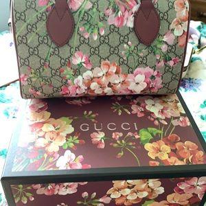 Gucci Bags - Gucci Boston Blossom limited edition